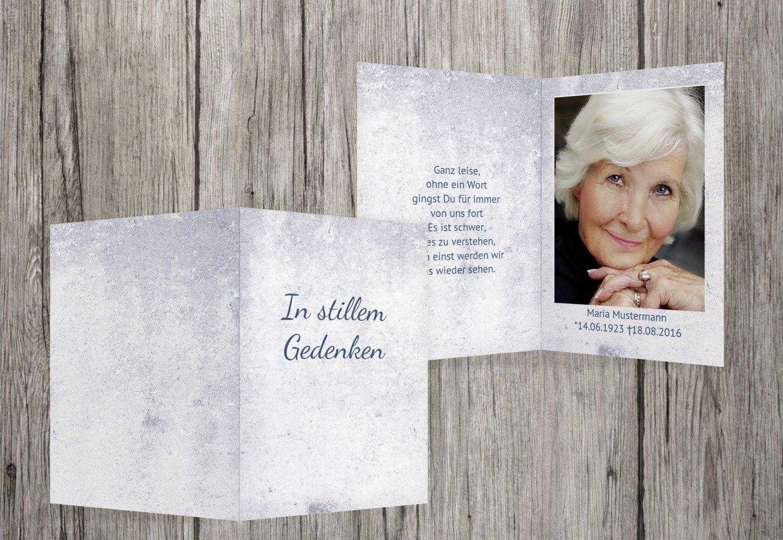 sterbe imágenes Lluvia, MitternachtsBlau, 90 Karten