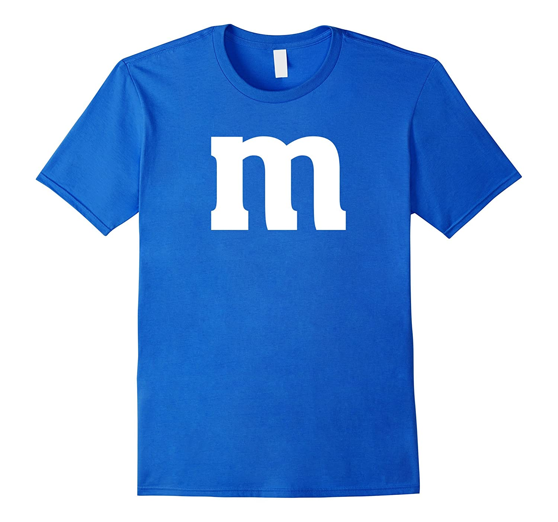 Letter M Lowercase T-Shirt - English Alphabet Latin Tees-T-Shirt