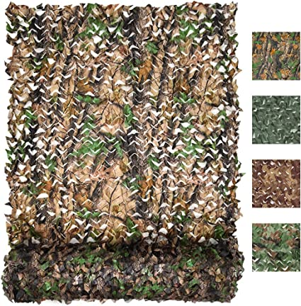 Amazon Com Flyego Military Camo Netting Camouflage Tarp Mesh Net Lightweight Waterproof For Sunshade Canopy Party Decoration Hunting Blind And Car Vehicle Cover Sports Outdoors