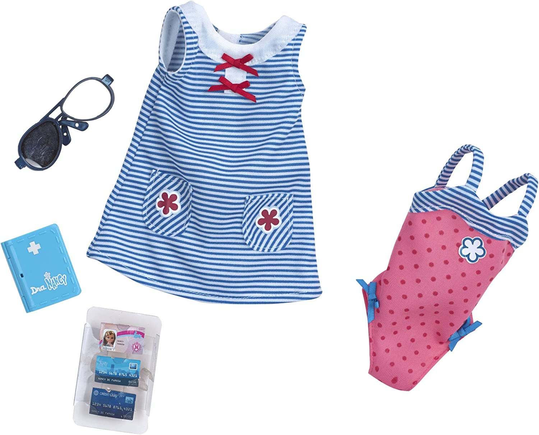 Amazon.es: Nancy Set de ropita para viajar con vestido azul y bañador rosa (Famosa 700012722A): Juguetes y juegos