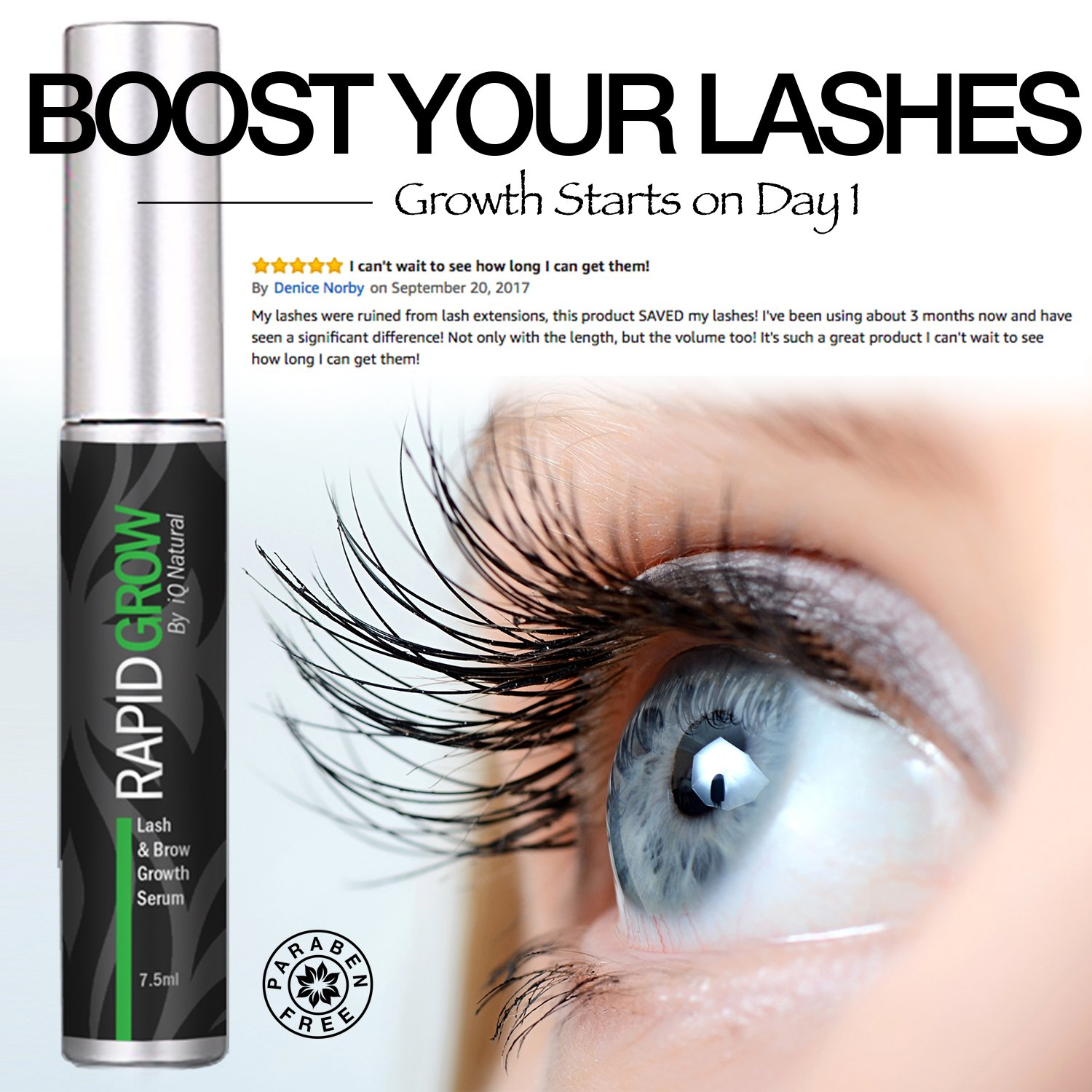 Amazon Eyelash Growth Serum For Thicker Longer Lashes