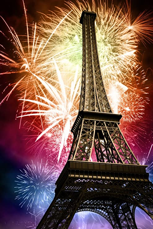 background photography new year colorful romantic fireworks eiffel tower photo studio backgrounds digital paris holiday kids