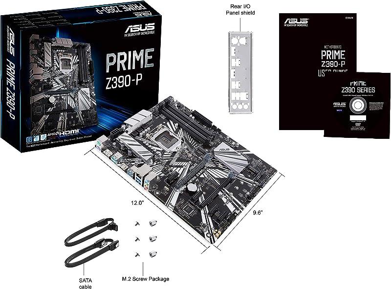 ASUS Prime Z390-P LGA1151 (Intel 8th and 9th Gen)