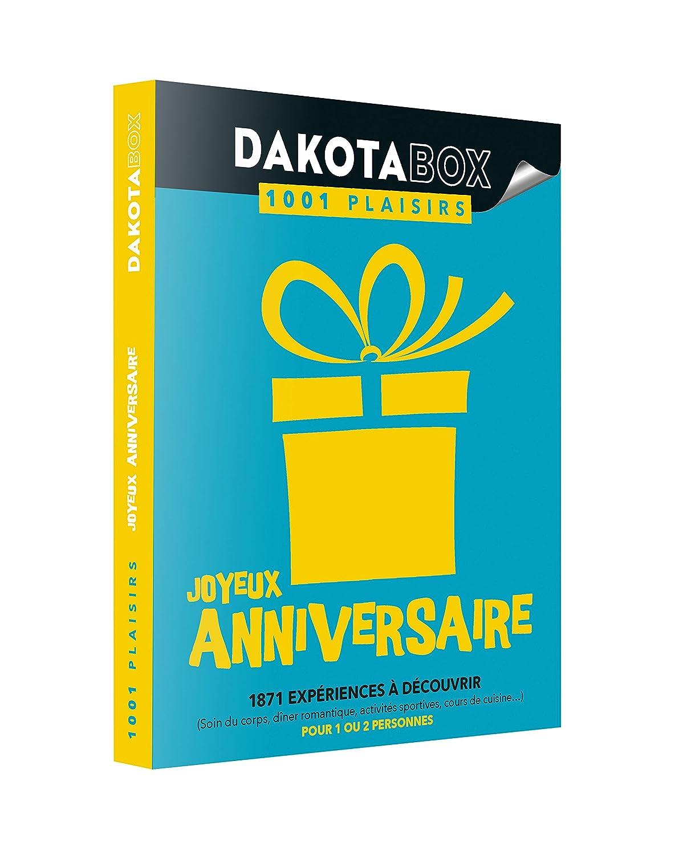 DAKOTABOX 100 Plaisirs Joyeux Anniversaire - Caja regalo con ...