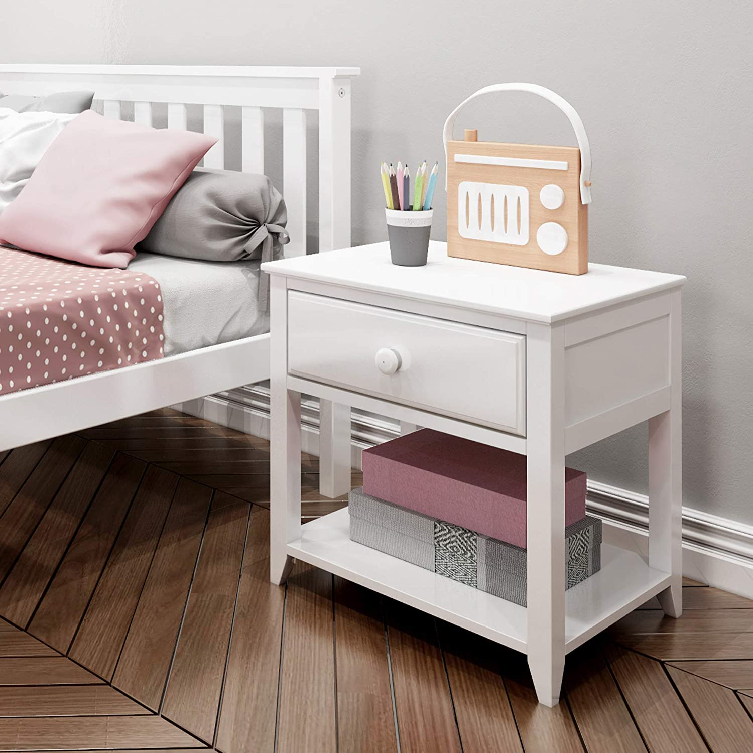 Max /& Lily Nightstand Clay