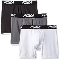 Puma Men 's Paquete de 3Tech Boxer Brief