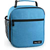 Reusable Lunch Bag, Insulated Lunch Box for Men/Kids,Tough & Spacious Adults Cooler Bento Box for Men & Women