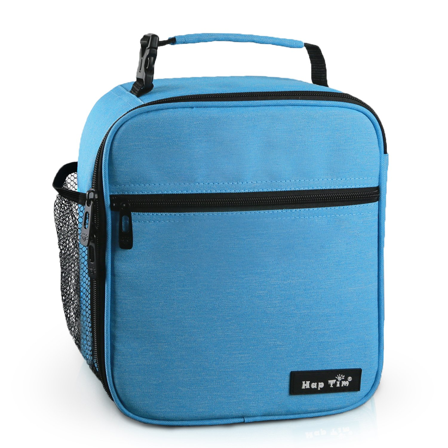 Hap Tim Insulated Lunch Bag for Men Women,Reusable Lunch Box for Boys,Spacious Lunchbox Adult (18654-BL) by Hap Tim