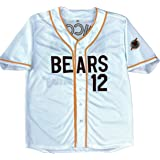 4f13fc4b8 MVG ATHLETICS Bad News Bears Movie Baseball Jersey #12 Embroidered S-XXL