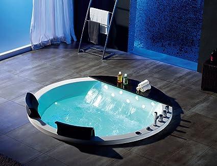 Whirlpool baño – Izis 916/1700 x 1700 x 830 mm/calentador de agua