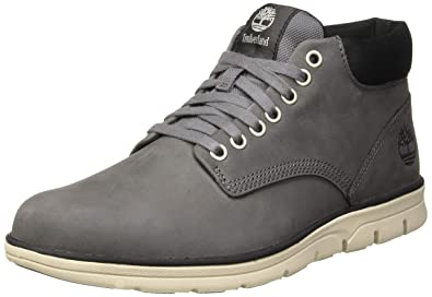 gray timberlands mens