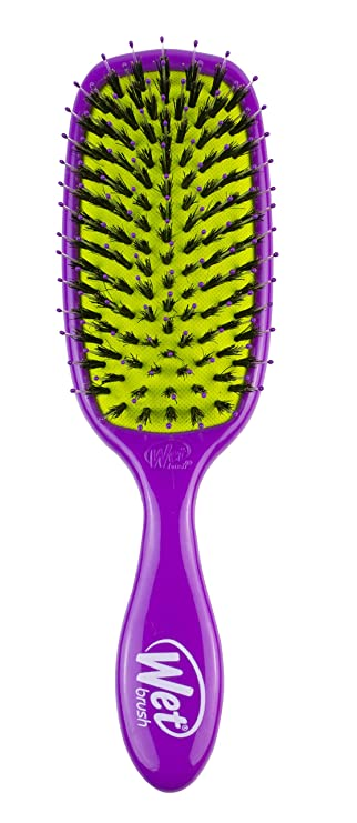 Amazon Com Wet Brush Shine Enhancer Hair Brush Purple Exclusive Ultra Soft Intelliflex Bristles Glide Through Tangles With Ease For All Hair Types For Women Men Wet And Dry