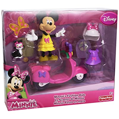 Fisher-Price Disney's Minnie's Motor Scooter: Toys & Games