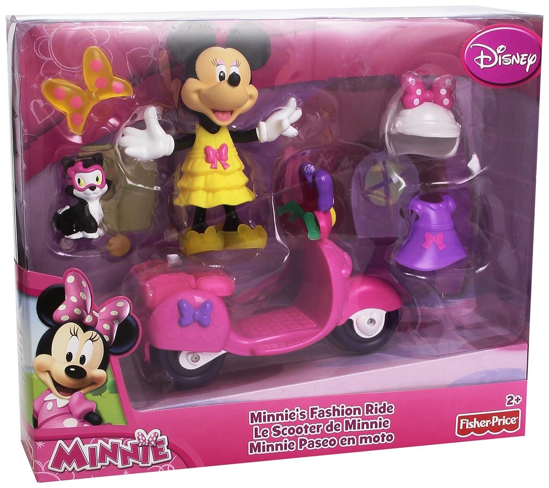 Mattel Fisher-Price W5115 - Disney's Minnie Maus Motorroller