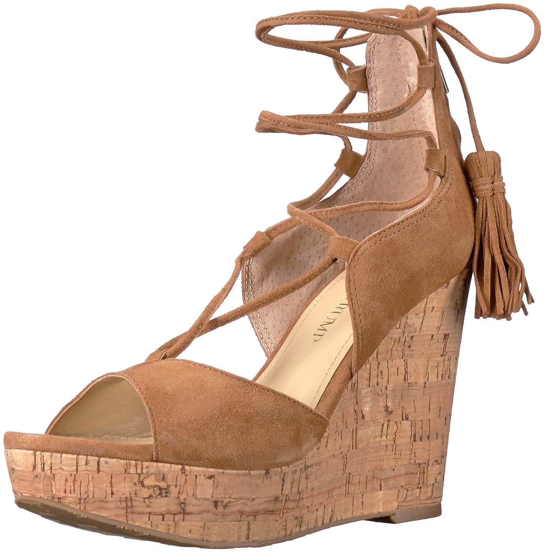 Ivanka Trump Women's Hellan3 Wedge Sandal B01M06Z37D 6 B(M) US|Cognac