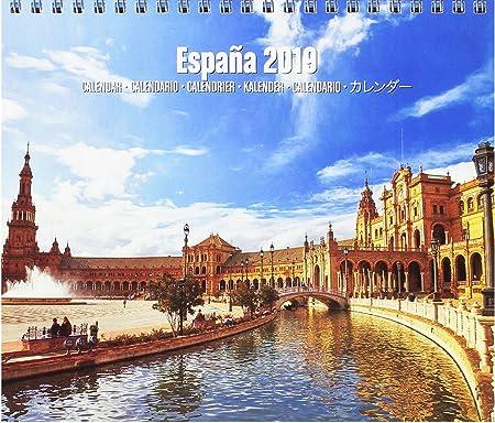 Grupo Erik Editores CS19024 - Calendario de sobremesa 2019 España ...