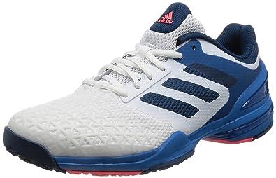 adidas Men's Adizero Club Oc Ftwwht, Tecste and Flared Tennis Shoes - 11 UK/