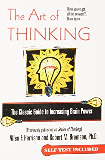Amazon the art of thinking a guide to critical and creative the art of thinking the classic guide to increasing brain power fandeluxe