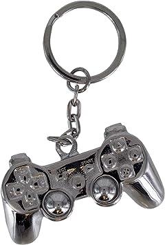 Amazon.com: Playstation 3d llavero de metal