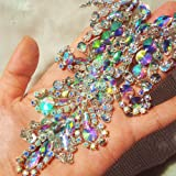 Handmade Beaded Sequin AB Color Bling Sew On