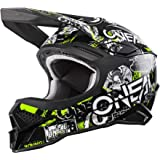 O'Neal 0627-203 3SRS Adult Helmet Attack 2.0 (Black/Neon Yellow, MD)