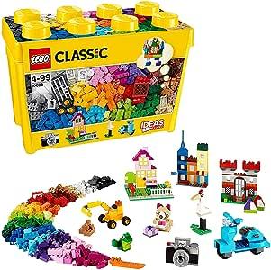 Lego Classic Yellow Ideas Special Bricks Box