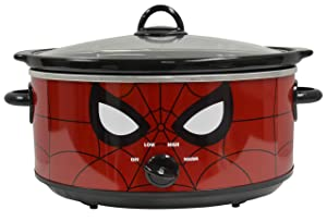 Uncanny Brands Marvel Spider-Man 7qt Slow Cooker- Your Friendly Neigborhood Slow Cooker