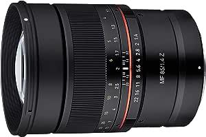 Samyang SA3702 - Objetivo MF para cámara Nikon Z (85 mm, F1.4 ...