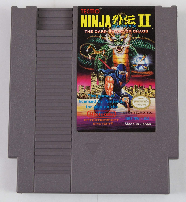 Amazon Com Nes Ninja Gaiden Ii Video Game Used Video Games