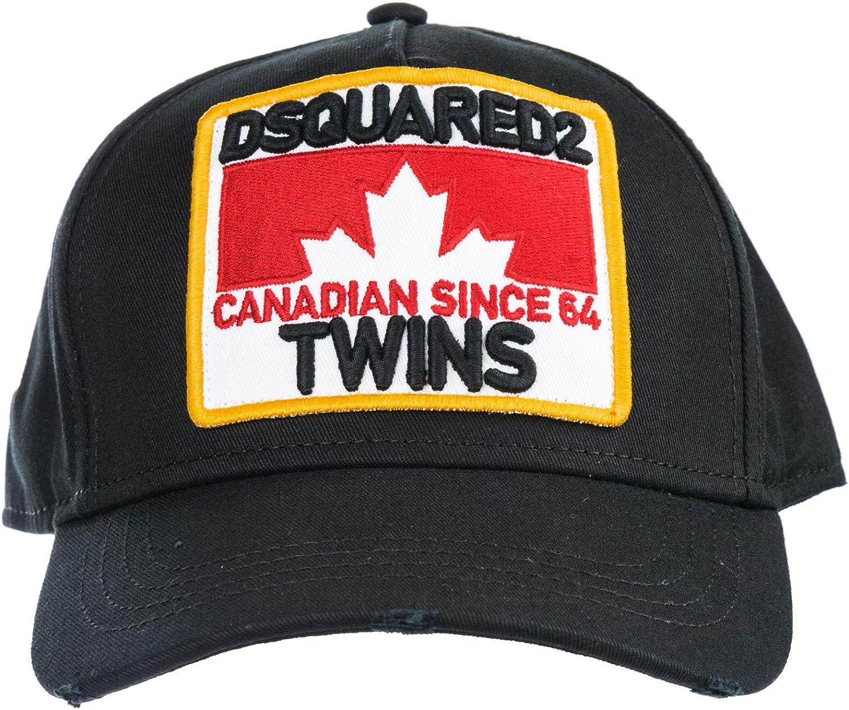 DSQUARED2 Twins Gorra de Beisbol Hombre Nero: Amazon.es: Ropa y ...