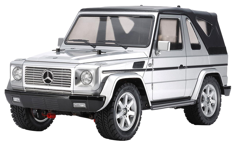 タミヤ 1/10 電動RCカーシリーズ No.635 メルセデスベンツ G 320 カブリオ 塗装済み シルバーボディ (MF-01 Xシャーシ) 58635 B01IB39FVC