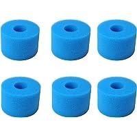Typ S1 wkład do filtra Intex Pure Spa z filtrem do hydromasażu, wielokrotnego użytku zmywalny wkład filtrujący z pianki…