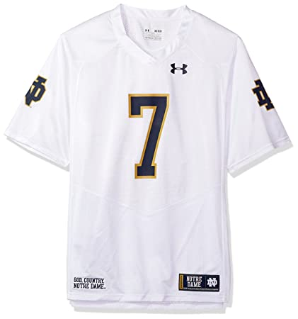 Image Unavailable. Image not available for. Color  Under Armour NCAA Notre  Dame Fighting Irish FG205068A12 Childrens Official Sideline Jersey ... 7a9936857
