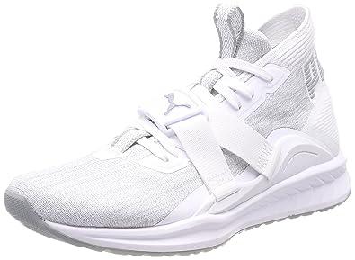 Puma Ignite Evoknit 2, Chaussures de Cross Homme, Noir Black-Asphalt White, 47 EU