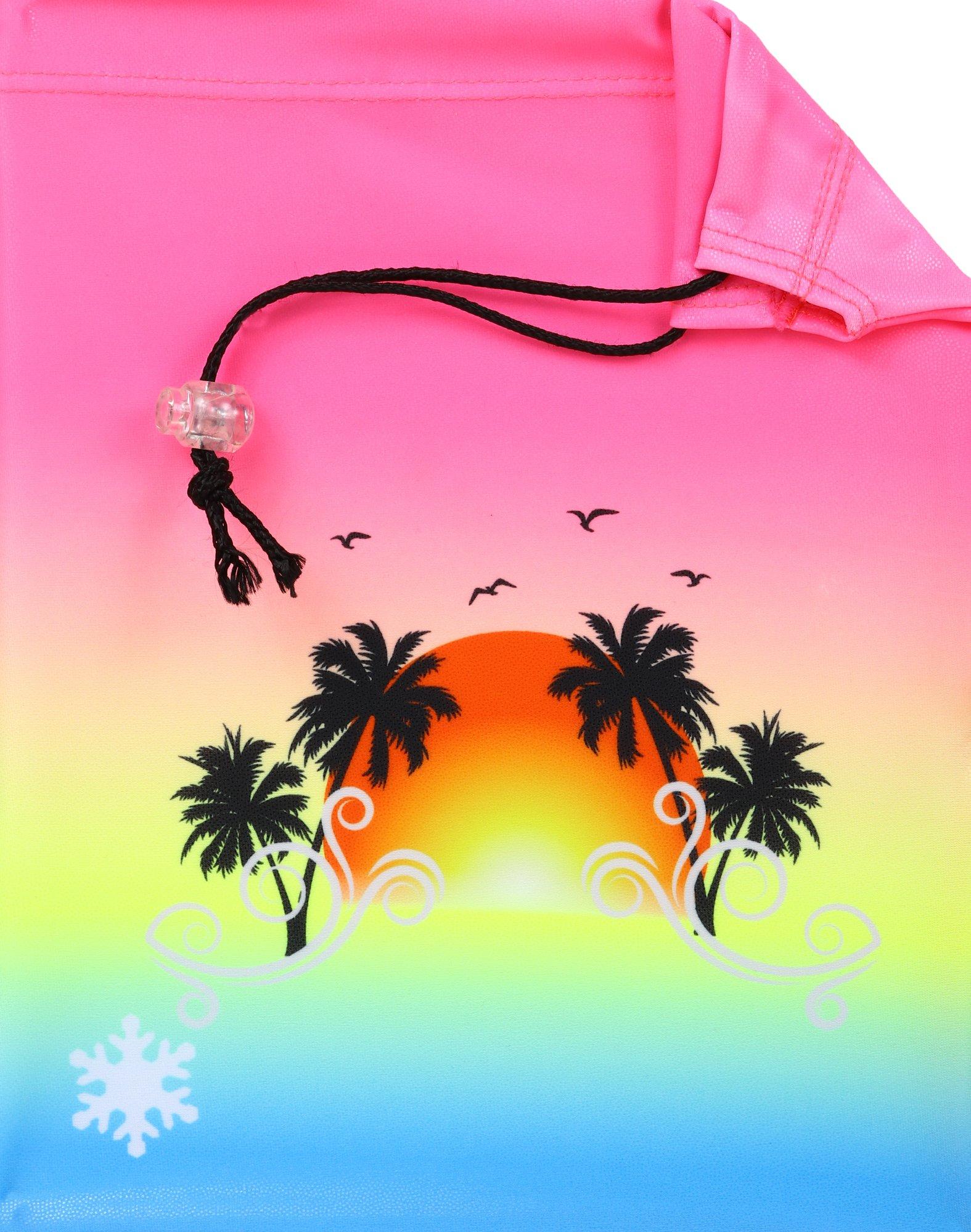 Snowflake Designs Beach Sunset Gymnastics Grip Bag
