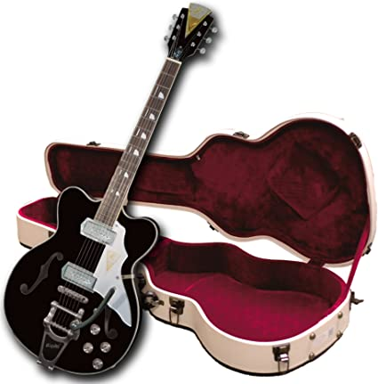 Kay Vintage Reissue K775VBK Jazz II Guitarra eléctrica con Bigsby ...