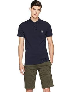 3ba9c154 BOSS Men's Prime Polo Shirt: Amazon.co.uk: Clothing