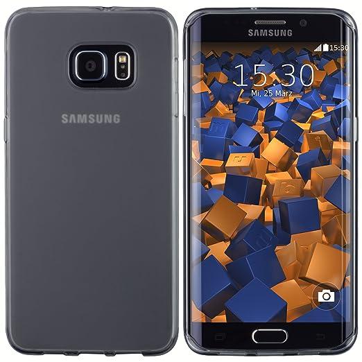 44 opinioni per Mumbi Custodia trasparente per Samsung Galaxy S6EDGE + Nero