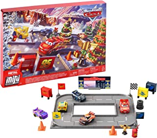 Disney Cars GGV65 - Cars Adventskalender, Spielzeug ab 3 Jahren
