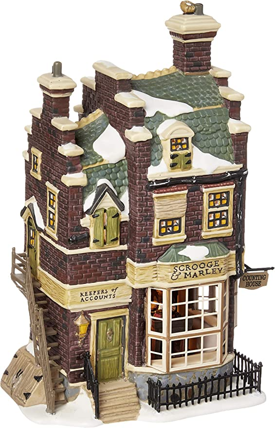 Department 56 Dickens 2000 Scrooge /& Marley Counting House 58483 Accountant