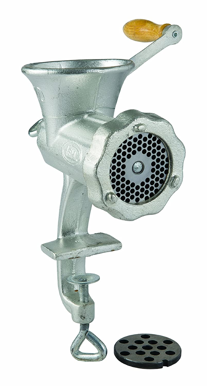 Amazon.com: LEM Products 10 Tinned Clamp-on Hand Grinder: Sports ...