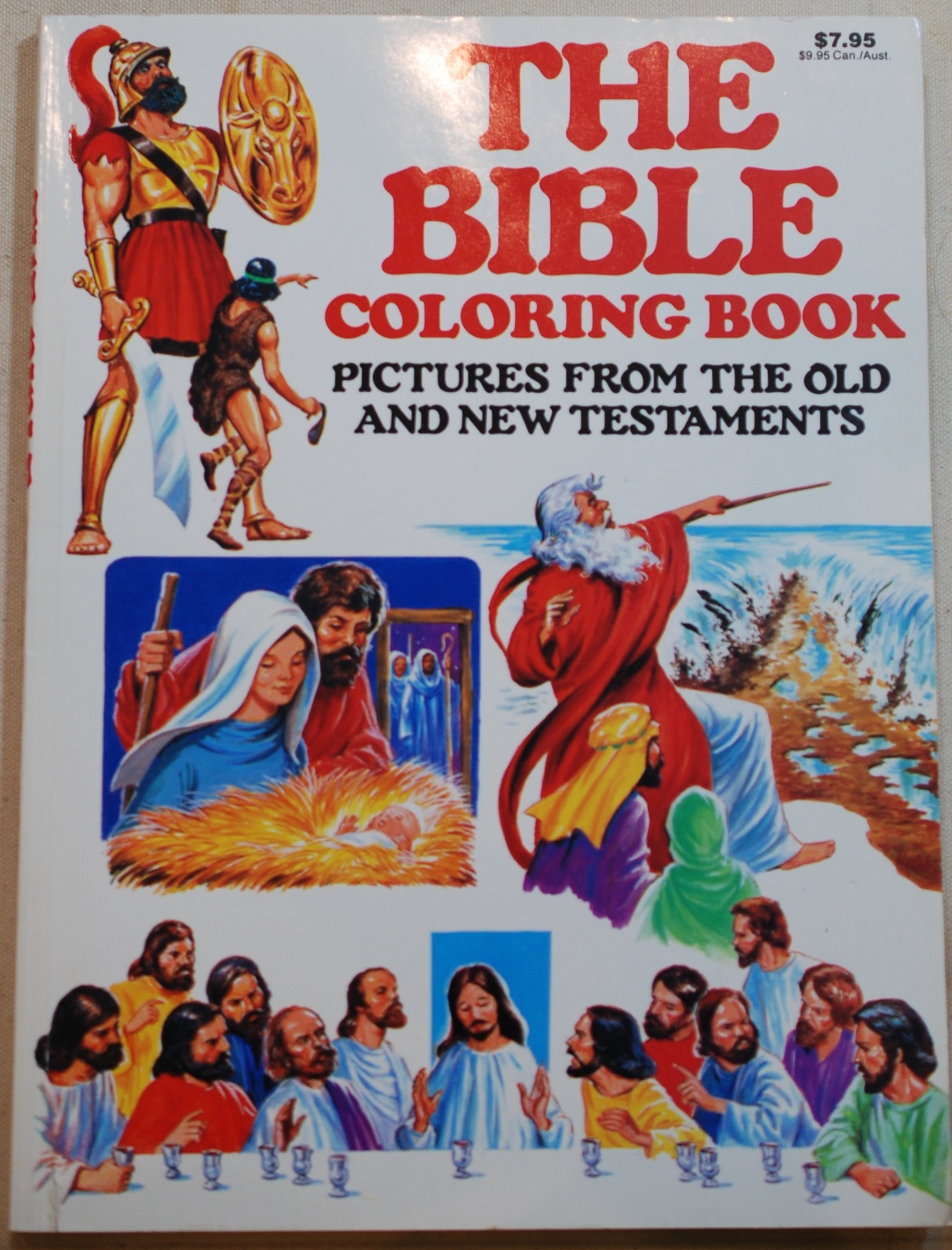 104 The Bible Coloring Book Pictures From The Old And New Testaments Picture HD