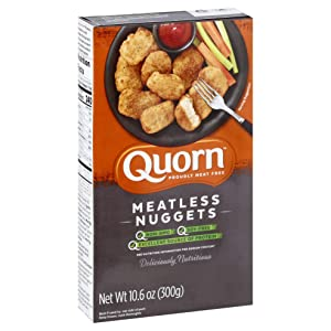 Quorn Foods Meatless Nuggets, Vegetarian, Frozen, 10.6 Oz