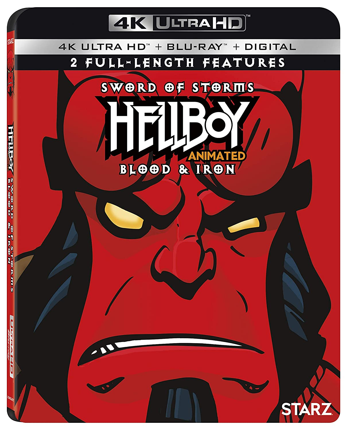 Hellboy Double Feature [USA] [Blu-ray]: Amazon.es: Ron ...
