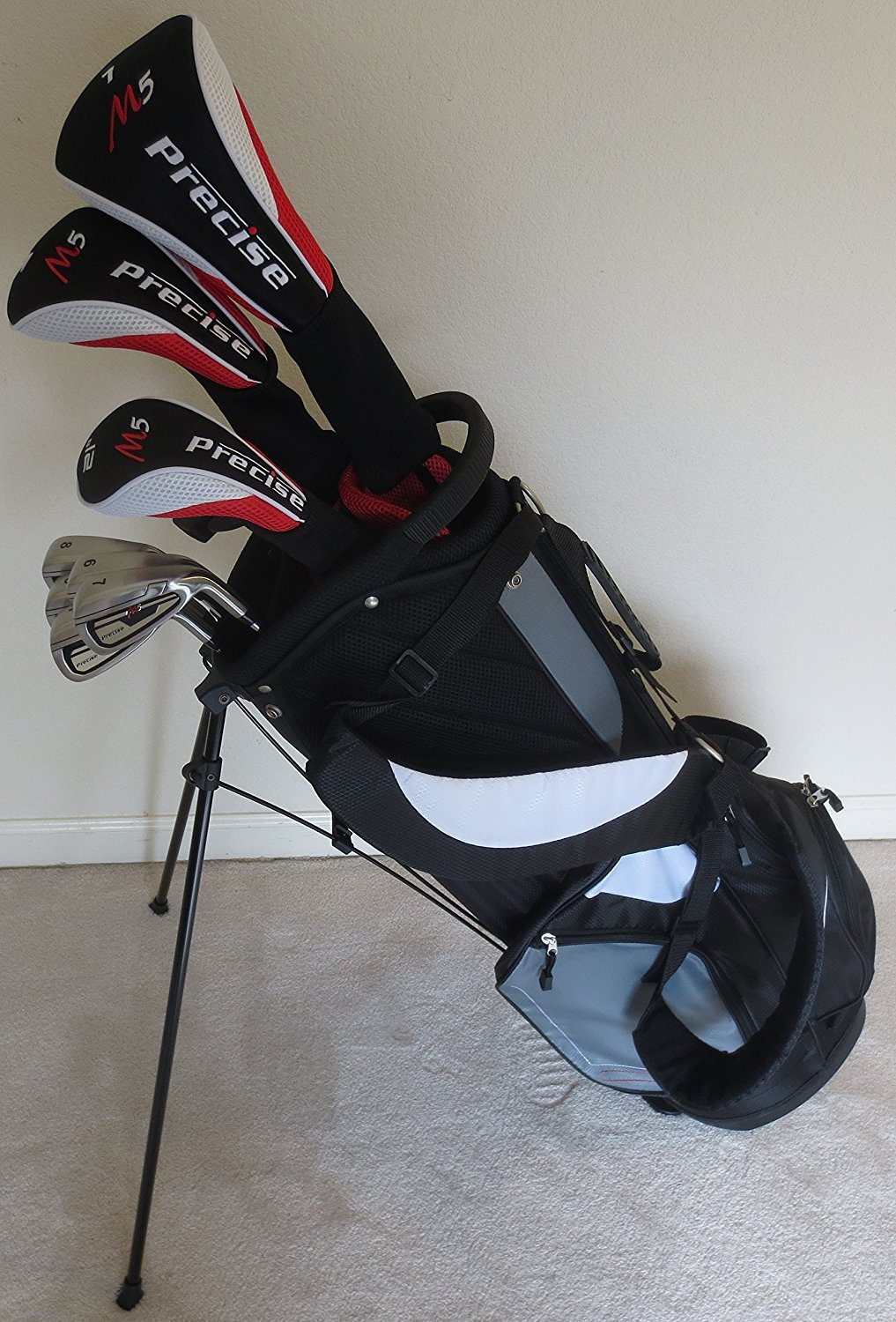 Mens Complete Golf Club Set Driver, Fairway Wood, Hybrids ...