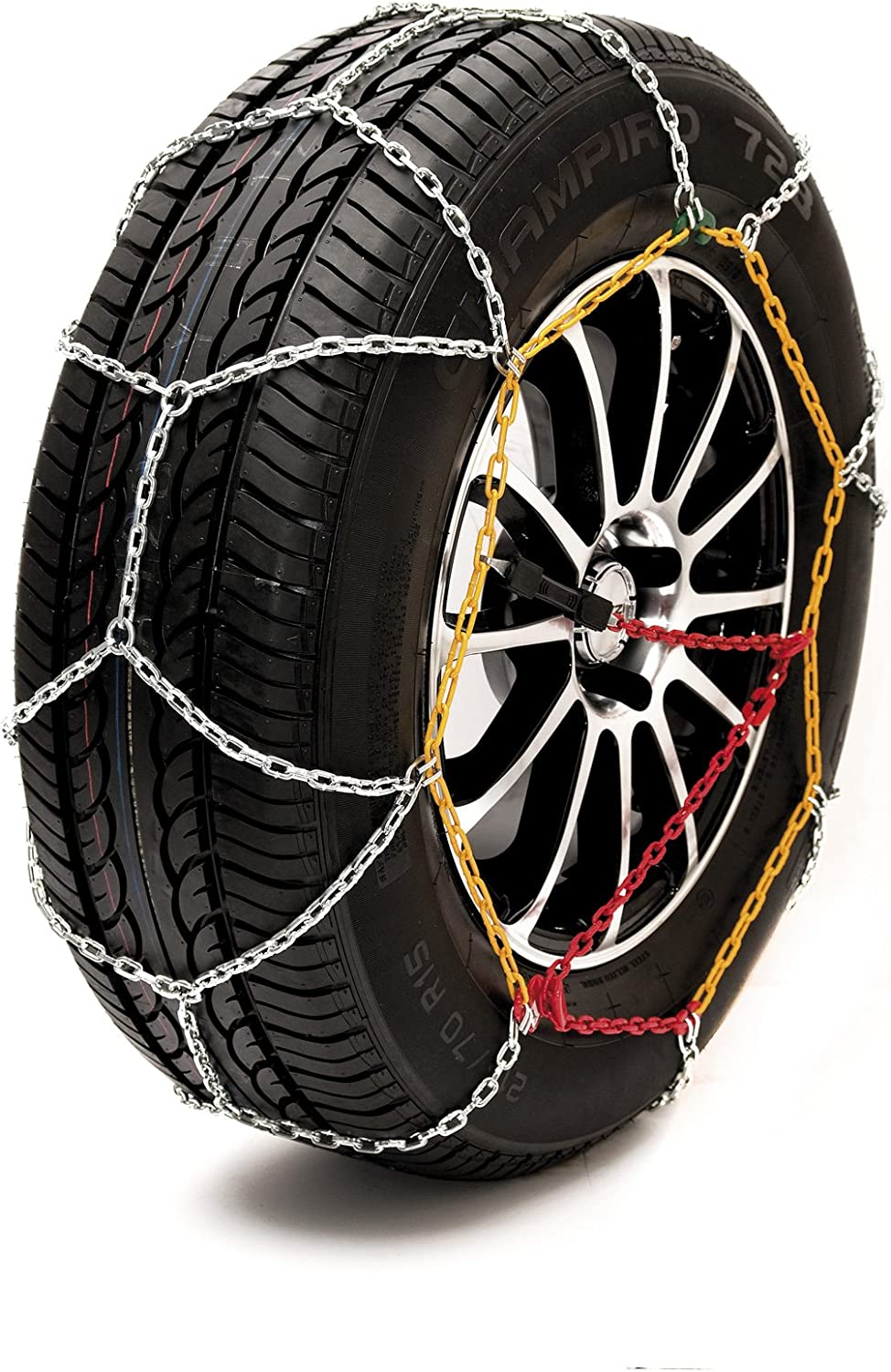 Sumex Husky Winter Classic Alloy Steel Snow Chains for 19 Car Wheel Tyres 225//40 R19