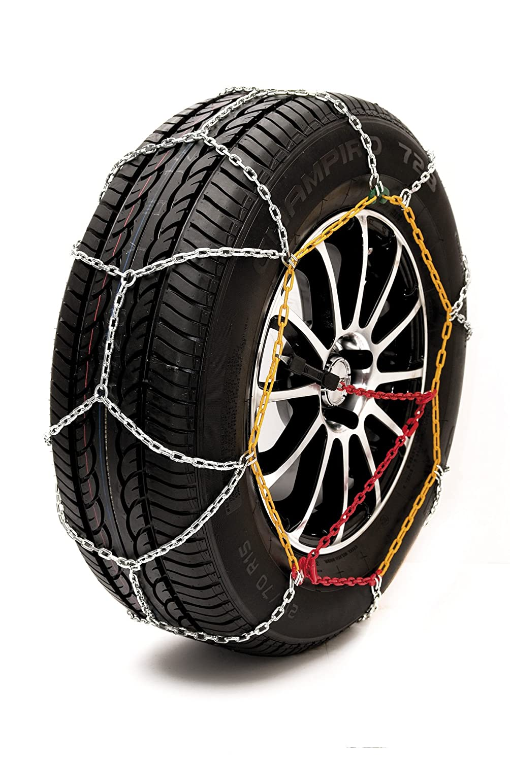 Sumex Husky Winter Classic Alloy Steel Snow Chains for 18' Car Wheel Tires (255/40 R18)
