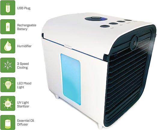 Spantron ventilador de aire acondicionado portátil – el mejor ...