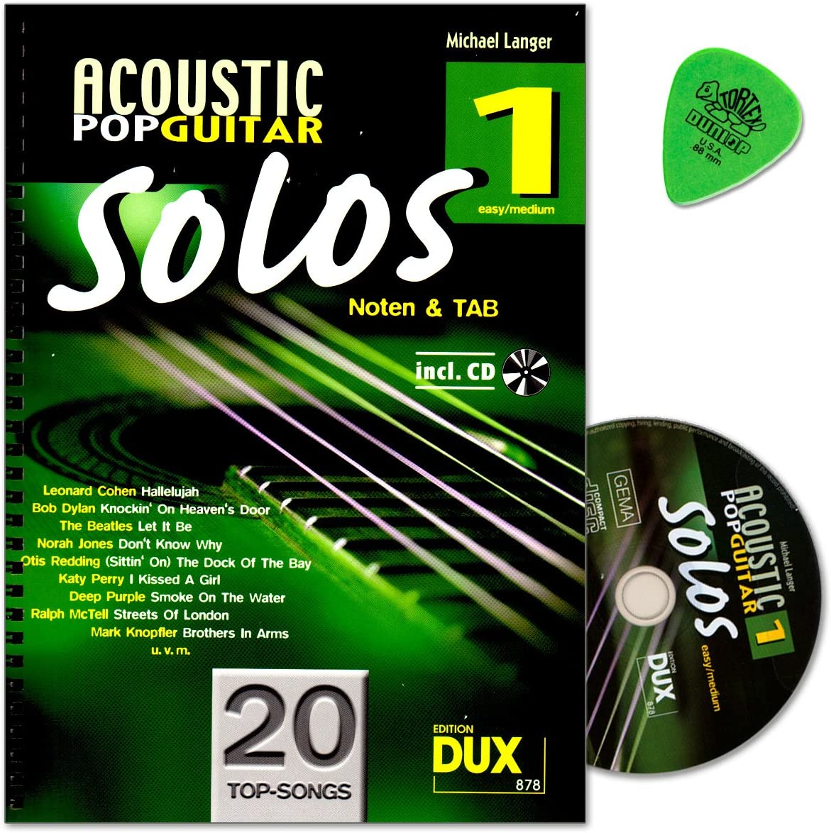 Acoustic Pop Guitar Solos banda 1 – Canciones para guitarra solo ...