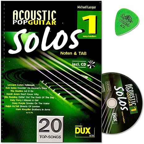 Acoustic Pop Guitar Solos banda 1 – Canciones para guitarra solo ...